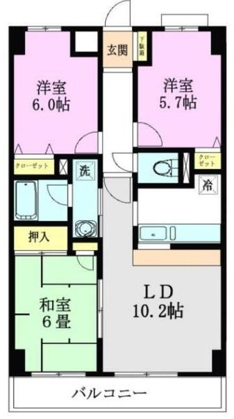 <賃貸マンション>根岸台8丁目 スターハイム朝霞